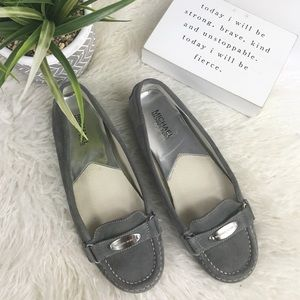 Michael Kors Suede Flats Leather Size 9